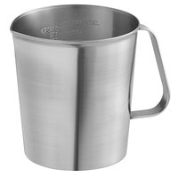 Vollrath 95320 1 Qt. Stainless Steel Graduated Measuring Cup