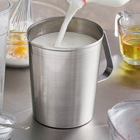 Vollrath 95640 2 Qt. Stainless Steel Graduated Measuring Cup