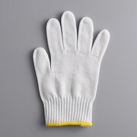 Mercer Culinary M33413XS Millennia® White A5 Level Cut-Resistant Glove - Extra Small