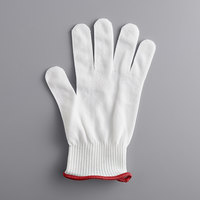 Mercer Culinary M33411S MercerGuard® White A4 Level Cut-Resistant Glove - Small
