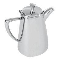 Vollrath 46200 Triennium 10 oz. Mirror-Finished Stainless Steel Coffee Pot