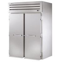 True STA2HRI-2S Specification Series Two Section Solid Door Roll In Heated Holding Cabinet