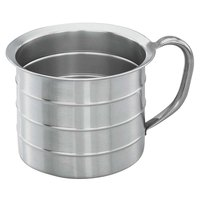 Vollrath 79540 4 Qt. Stainless Steel Graduated Measuring Cup