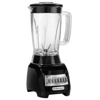 Hamilton Beach 50128 Black 48 oz. 3/4 hp 10 Function Blender - 120V, 500W