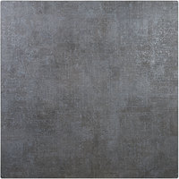 BFM Seating FS2424 Midtown 24 inch Square Indoor Tabletop - Frosted Slate