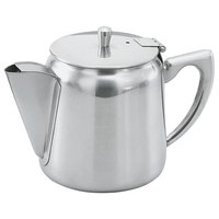Vollrath 46370 10 oz. Mirror Finished Stainless Steel Coffee / Tea Server with Hollow Handle