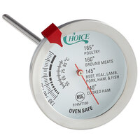 Choice 5 inch Probe Dial Meat Thermometer