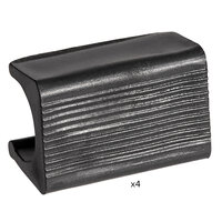 Lancaster Table & Seating Replacement Bumper for Alloy Line   - 4/Pack