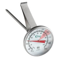 Choice 5 inch Hot Beverage / Frothing Thermometer 30 - 220 Degrees Fahrenheit