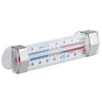 AvaTemp 4 3/4 inch Tube Refrigerator / Freezer Thermometer