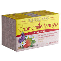 Bigelow Chamomile Mango Herbal Tea Bags - 20/Box