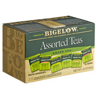 Bigelow Assorted Green Tea Bags - 18/Box