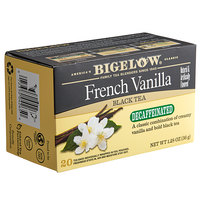 Bigelow French Vanilla Decaffeinated Tea Bags - 20/Box