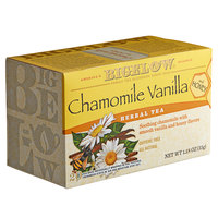 Bigelow Chamomile Vanilla and Honey Herbal Tea Bags - 20/Box