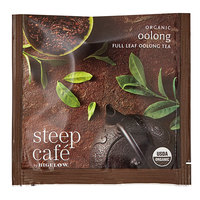 Steep Cafe By Bigelow Organic Oolong Tea Pyramid Sachets - 50/Case