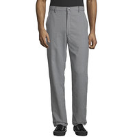 Uncommon Threads 4013 Unisex Houndstooth Customizable Straight Leg Chef Pants - 36 inch