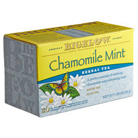 Bigelow Chamomile Mint Herbal Tea Bags - 20/Box