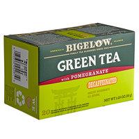 Bigelow Green Tea with Pomegranate Decaffeinated Tea Bags - 20/Box