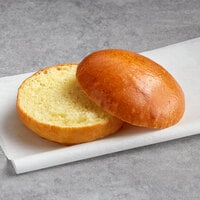 LeBus 3 3/4 inch Sliced Brioche Sandwich Roll - 96/Case