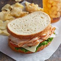 LeBus 40 oz. Sliced Sourdough Sandwich Bread Loaf   - 5/Case