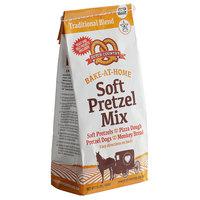 Dutch Country Foods 1.5 lb. Bake-At-Home Soft Pretzel Mix Kit   - 12/Case
