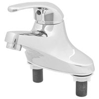 T&S B-2711 Deck Mounted Single Lever Faucet with 4 inch Centers ADA Compliant