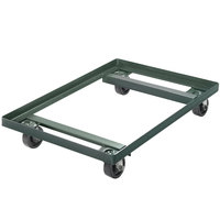 Chicago Metallic 42580 Steel Sheet Customizable Pan Dolly with 3 inch Casters