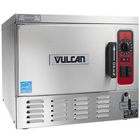 Vulcan C24EO3AF-1100 3 Pan Boilerless Electric Countertop Steamer with Auto-Fill - 240V, 1 Phase, 8 kW