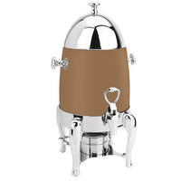 Eastern Tabletop 3131RZ Ballerina 1.5 Gallon Bullet-Shaped Bronze Coated Stainless Steel Coffee Chafer Urn