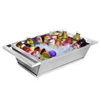 Eastern Tabletop 9055 Stainless Steel Double Wall Beverage Tub