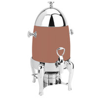 Eastern Tabletop 3131CP Ballerina 1.5 Gallon Bullet-Shaped Copper Coated Stainless Steel Coffee Chafer Urn