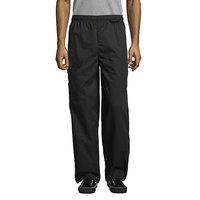 Uncommon Threads 4100 Unisex Black Customizable Uncommon Cargo Chef Pants - L