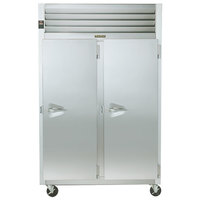 Traulsen G22012 52 inch G Series Two Section Solid Door Reach in Freezer with Right / Right Hinged Doors - 46 cu. ft.