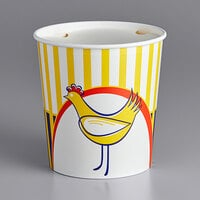 Choice 130 oz. Chicken Bucket with Lid   - 20/Pack