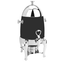 Eastern Tabletop 3131MB Ballerina 1.5 Gallon Bullet-Shaped Black Coated Stainless Steel Coffee Chafer Urn