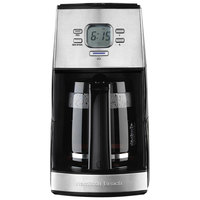 Hamilton Beach 43254R Black and Stainless Steel 12 Cup Coffee Maker - 120V, 900W