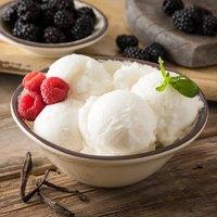 Carlisle 5400453 Mingle 27 oz. Sweet Cream Melamine Ice Cream Bowl - 12/Case