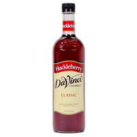 DaVinci Gourmet 750 mL Huckleberry Classic Coffee Flavoring / Fruit Syrup