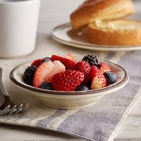 Carlisle 5401853 Mingle 4.5 oz. Sweet Cream Melamine Fruit Bowl - 48/Case