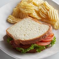 Rich's 14 oz. Gluten-Free White Sandwich Bread Loaf   - 8/Case