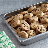 Rich's Jacqueline 1.5 oz. Preformed Vegan Chocolate Chip Cookie Dough   - 210/Case