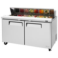 Turbo Air MST-60 60 inch 2 Door Refrigerated Sandwich Prep Table