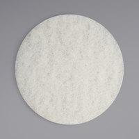 Bissell Commercial 437.051BG 12 inch White Polishing Pad for BGEM Series Orbital Floor Machines