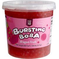 Bossen 7.04 lb. Pure10 Dragon Fruit Bursting Boba - 4/Case