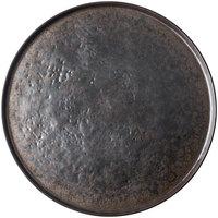 Tablecraft 123518BR Lunara 16 inch Brown Round Melamine Platter