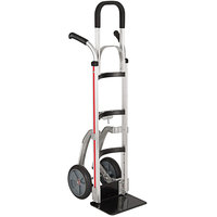 Magliner NTK516E3B5H7 Narrow Aisle Hand Truck with Double Grip Handles and Keg Hook