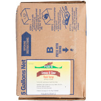 Fox's 5 Gallon Bag In Box Lemon-Lime Slush Syrup