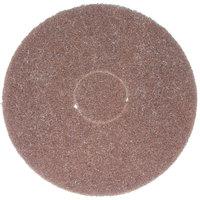 Bissell Commercial 437.049BG 12 inch Brown Scrubbing Pad for BGEM Series Orbital Floor Machines