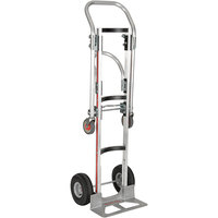 Magliner LNK111UA4 Gemini Bulk Convertible Hand Truck with Curved Frame