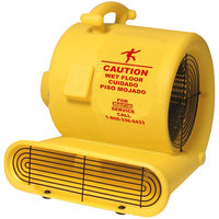 Bissell Commercial AM10D Yellow 3-Speed Air Mover - 1/3 HP